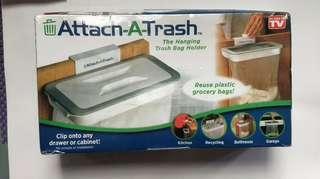 全新Attach-a trash 可掛式垃圾袋架