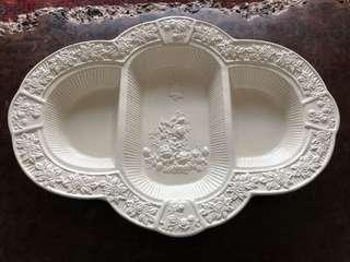 Royal Albert - never used - all original - dry fruit tray - hard to find this size