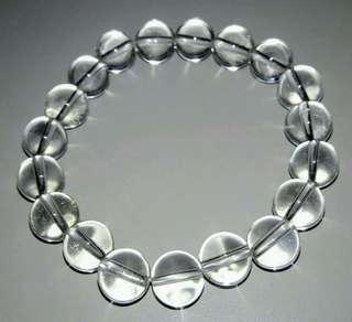 5A白水晶手珠,30克,女生戴,現貨6條