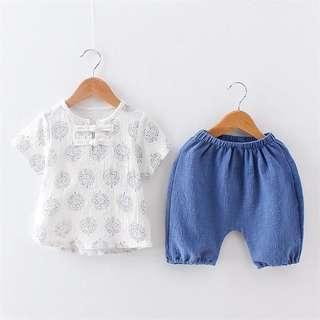 Boy/ baby Chinese style set