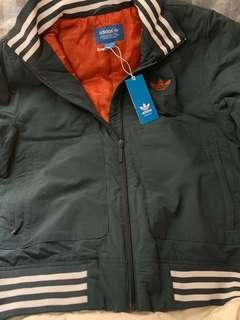 adidas 外套🧥 jacket 綠色 軍綠 olive green 中碼
