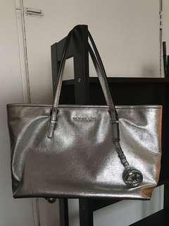 Michael Kors Purse - Silver