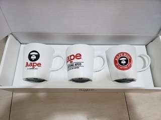 Aape (全新) Coffee mug (set of 3)