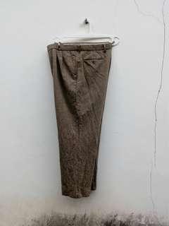 Celana Vintage ysl yvessaintlaurent wide leg trouser