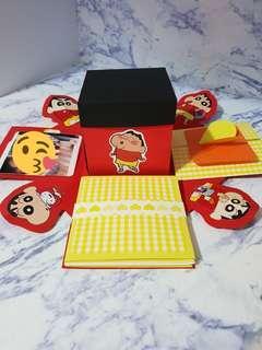 🚚 蠟筆小新-爆炸卡片禮物盒(盒中盒)