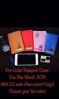 [Pre Order] Passport Leather/Passport Cover