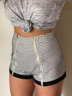 Finders Keepers High-waisted Shorts