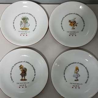 "Code228: Maebata ""The Macmillan Alice"" dessert saucers"