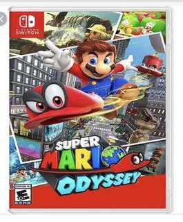 徵徵以下game Just dance 2019  Super mario odyssey  Mariokart Deluxe 8 Mario party