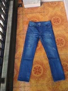 Old army Jeans cowok