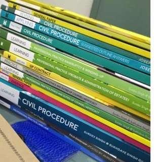 Brickfields Asia College CLP Law Books 2018/2019