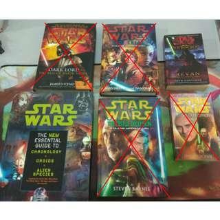 Star Wars, Warhammer 40, Misc Novels #SparkJoyChallenge