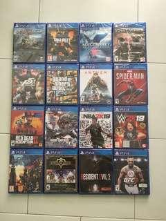 🚚 PS4 Games Bundle Deal March 2019 Top Seller's Choice *7% Discount Straight For Purchase Above $100 + Free Shipping (Brand New Sealed)
