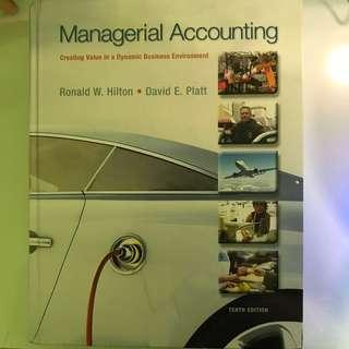 🚚 Managerial Accounting(Tenth Edition)