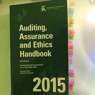 🚚 Auditing, Assurance and Ethics Handbook 2015