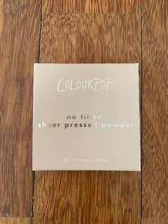 Colourpop No Filter Sheer Pressed Powder