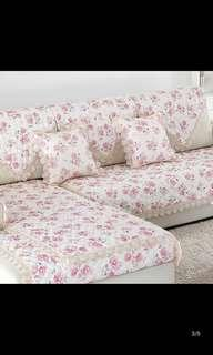 🚚 Country Style Sofa cover with laces