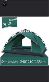 Brand New Ice Mountain Outdoor Waterproof Family Tent/ Picnic Tent / Camping Tent ( for 4 person use)