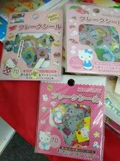 Brand New Hello Kitty Stickers