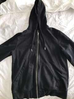 Black zip up