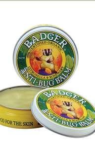 [ 代購 ] Badger Company, 防蚊蟲膏 Anti - Bug Balm  (21g )