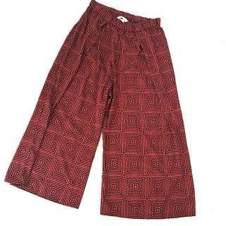 H&M light weight culotte pants