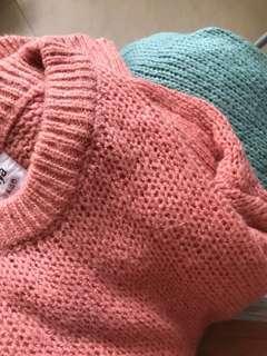 針織上衣毛衣