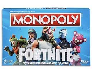 Brand New Monopoly Fortnite