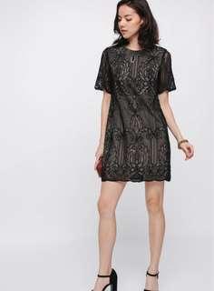 🚚 Love Bonito LB Yashvi Lace Dress (Size XL)