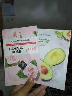 Take All nature republik Avocado & Damask Rose Etude house