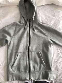 Grey Nike zipup