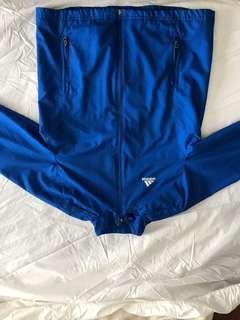 Adidas Blue windbreaker