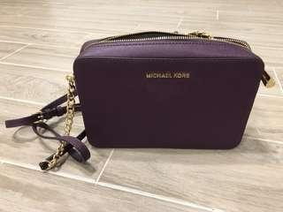 🚚 #我單身我驕傲 Michael Kors小方包(紫) 女包 小包