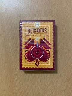 🚚 Betrayers Lucis Playing Cards - Thirdway Industries