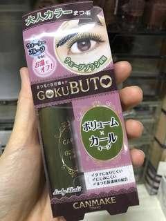 Canmake gokubuto mascara  makeup 濃密 睫毛膏 睫毛液