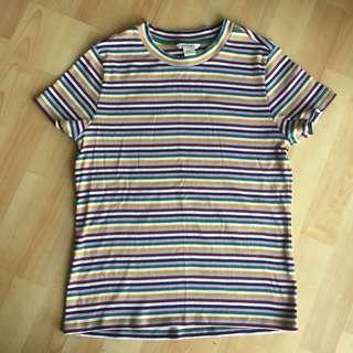 *3 FOR RM50*  Monki Stripes Tshirt