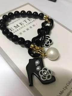 Grain de beaute aznavour Bracelet 山茶花 高跟鞋 珍珠 手鍊 鏈