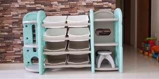 🚚 Brand new Free delivery kids toy rack organizer boxes