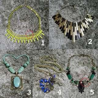 Necklace // Kalung Buy 3+ get 10% off
