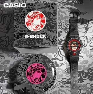Casio Gshock Limited Edition Black Turtle