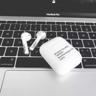 Airpods off white