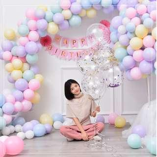 Macaron Latex Party Balloons