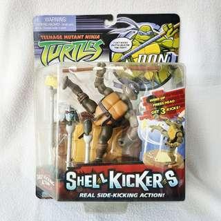 (MOC) 2006 Playmates Teenage Mutant Ninja Turtles Shell Kickers Donatello Action Figure - Mint Condition