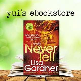 GARDNER - NEVER TELL - DD WARREN #10