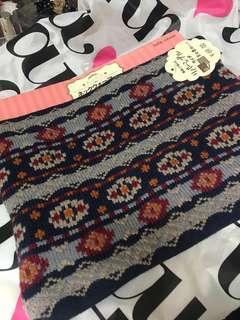 Tutuanna scarf 頸巾 雙面