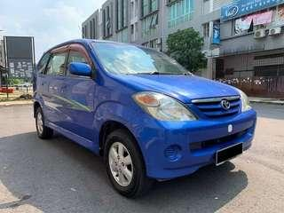 Toyota Avanza 1.3 (M) Loan Available