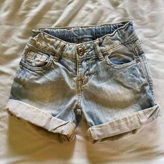 zara kids short pants jeans
