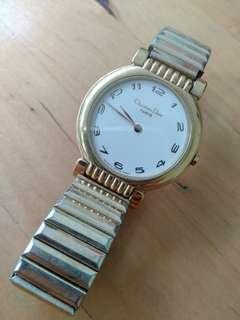 Christian Dior Antique Gold Watch