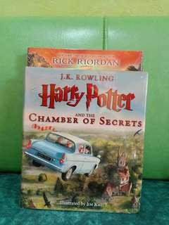 ILLUSTRATED CHAMBER OF SECRETS AND SORCERER'S STONE