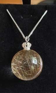 Rutilated Necklace(发晶项链)